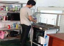 西乡景旺电子选择安装圣蓝工厂不锈钢直饮水机