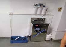 东莞全特电子选择安装圣蓝工厂不锈钢直饮水机