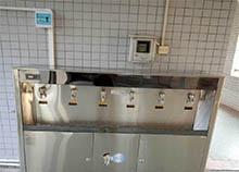 陪客户实地考察 深圳职业技术学校直饮水设备选择圣蓝
