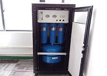 莫斯科大学中建八局指挥部选择安装圣蓝冷热直饮水机