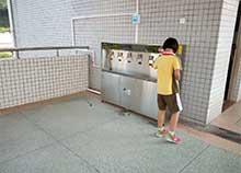 山东临沂一中,选择安装圣蓝校园不锈钢直饮水机
