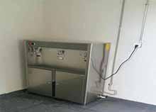 广州中国银行选择安装圣蓝不锈钢节能直饮水机