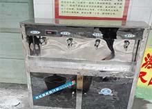 广西百色中学安装圣蓝不锈钢直饮水机