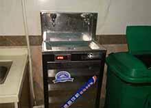 广州泰雄金属制造厂选择安装圣蓝工厂不锈钢直饮水机