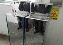 深圳思浮包装选择安装圣蓝工厂温热直饮水机
