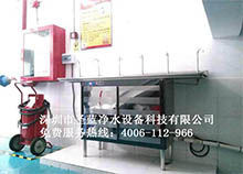 湘潭屹峰汽车公司选择安装圣蓝不锈钢直饮水设备