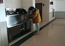 广州猎德学校选择安装圣蓝校园温热直饮水机