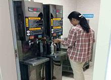 深圳北大医院选择圣蓝沸腾温开水机用着省心