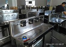 山东潍坊职业技术学校智能IC卡直饮水机安装完成